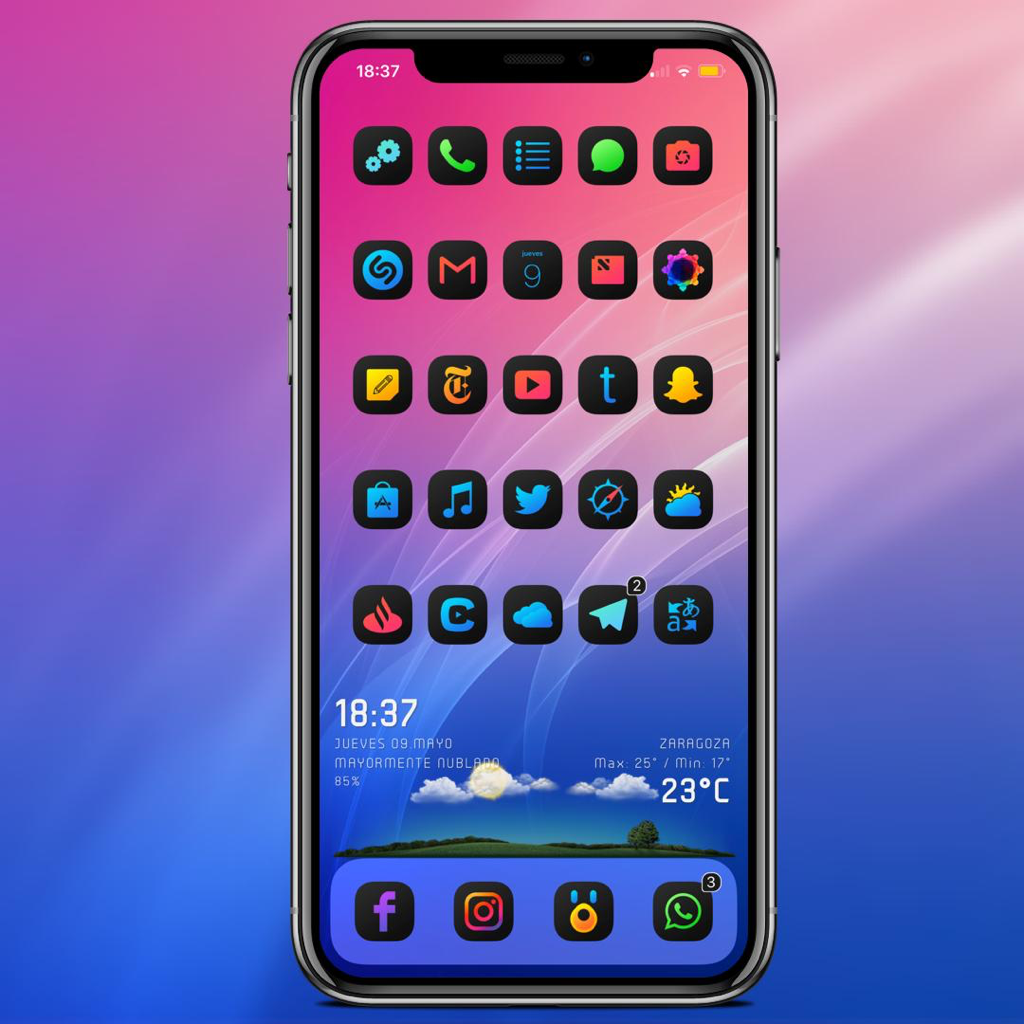 09-05-2019 - Setup by @GRKKA - Iconator11 by @soh_satoh - XenHtml by @_Matchstic - iWidget by @JunesIphone - Wallpaper by @AR72014 - Snowboard by @SparkDev_ - Badges by @DavidJGoldman - Chimera Jailbreak by @coolstarorg - ScreenshotX by @JunesIphone @ivan93rotciv